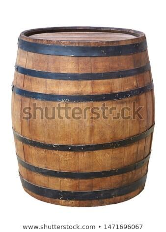 Grande vecchio legno barile acqua vino Foto d'archivio © vlaru