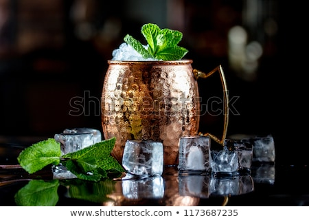Cocktail Moscow mule Stock photo © netkov1