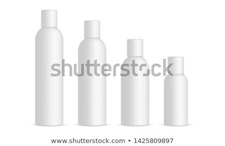 fles · roze · inkt · illustratie · witte · verf - stockfoto © bluering