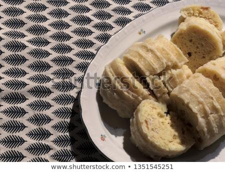 czech bread dumpling stock photo © digifoodstock