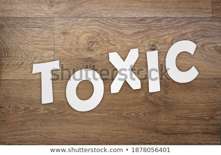 Quit sign on wooden table Stock photo © fuzzbones0