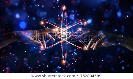 tudomány · főzőpohár · rajz · retro · rajz · aranyos - stock fotó © bluering