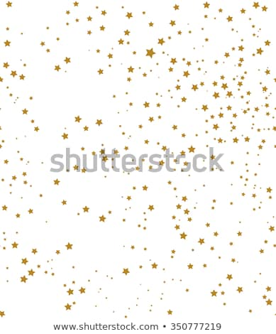 Seamless golden stars pattern, vector illustration Stock photo © carodi