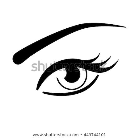 набор · женщины · глазах · здоровья · гламур · дизайна - Сток-фото © Said