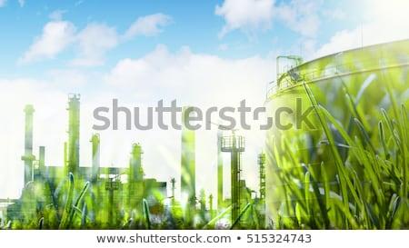 industrial development concept Stock photo © artjazz