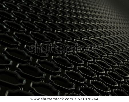Foto stock: Carro · grade · textura · preto