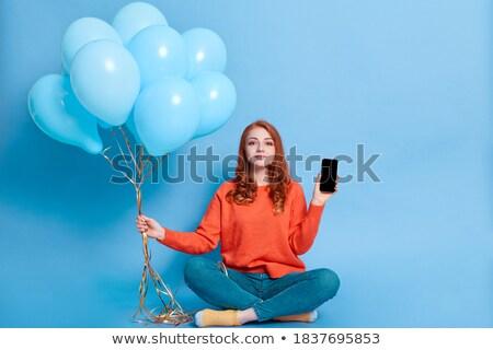 вечеринка · шаре · энергии · студию - Сток-фото © monkey_business