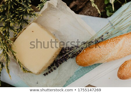 baguette with goat cheese stock photo © vertmedia