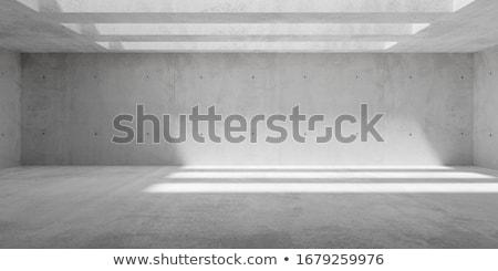 Vacío concretas habitación luz sombra oscuro Foto stock © stevanovicigor