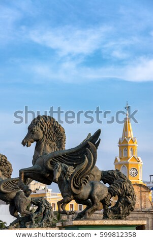 Pegasus Wharf in Cartagena, Colombia Stock photo © jkraft5