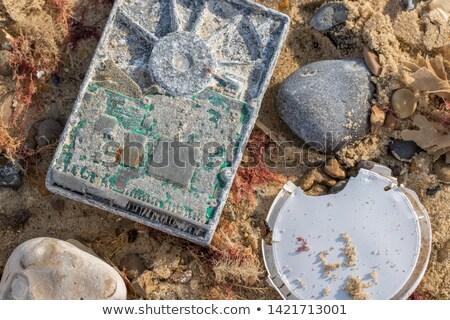 technologie · communication · isolé · vieux · téléphone - photo stock © lightsource