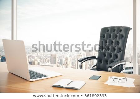 事務椅子 表 ポップアート レトロな デザイン 背景 ストックフォト © studiostoks