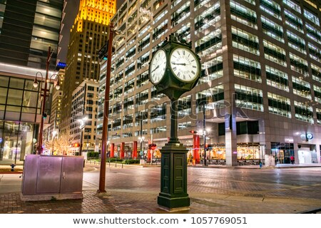 Downtown Houston, Texas at Night Stock photo © BrandonSeidel