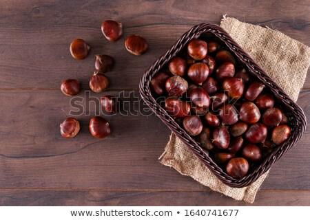 cozinhar · fogo · fruto · fumar · preto · outono - foto stock © stefanoventuri