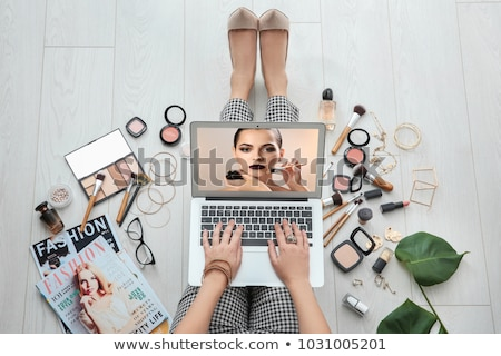 Laptop Screen with Master Class Concept. Stock photo © tashatuvango