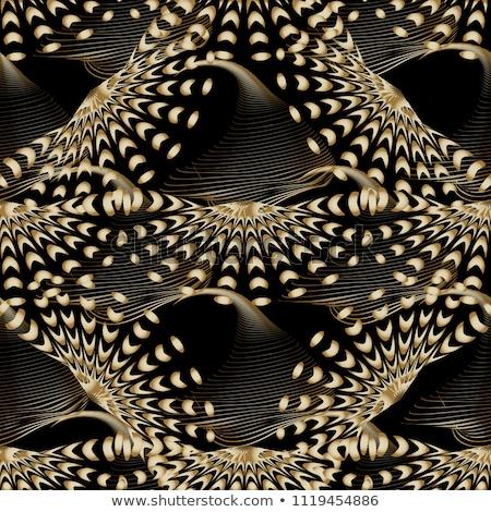 Vector abstract fractal geometrie decoratie gekleurd Stockfoto © TRIKONA