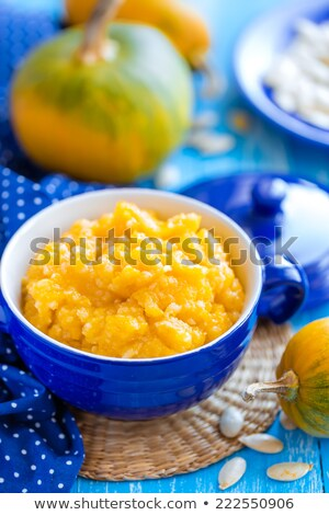 Rauw voedsel soep hout keuken tabel winter Stockfoto © M-studio