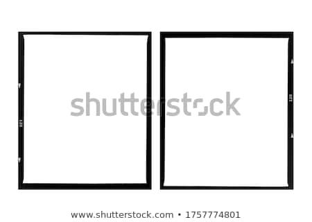 Stockfoto: Grunge Film Frame Effect