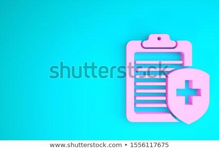 clipboard with claims 3d render stock photo © tashatuvango