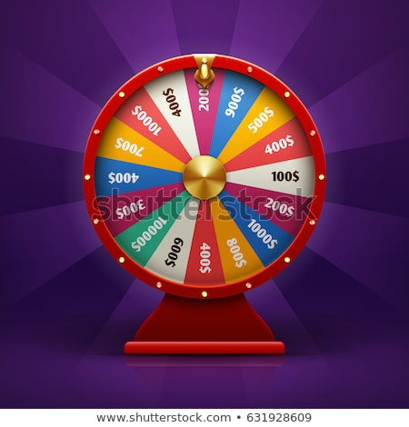 Illustration of Wheel of Fortune Stock photo © studioworkstock