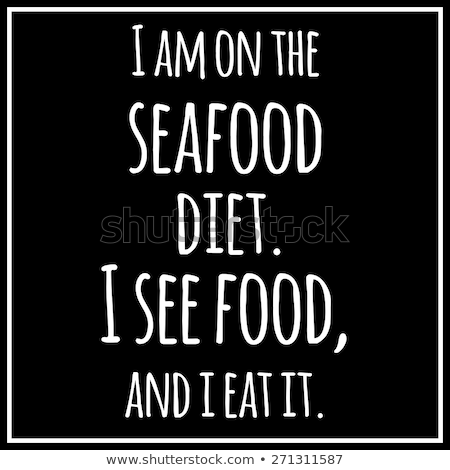 面白い 引用 ダイエット バランスの取れた食事 ストックフォト © balasoiu