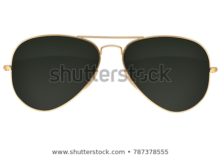 retro · occhiali · da · sole · zucche · riflessione · isolato - foto d'archivio © oblachko