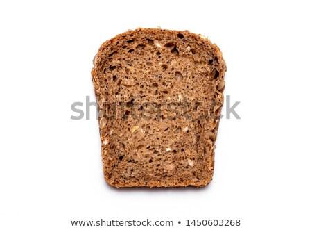 Stok fotoğraf: Bütün · tahıl · ekmek · ayçiçeği · tohumları