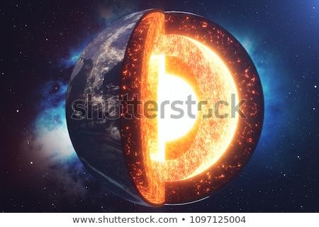 ядро · земле · 3d · визуализации · мира · видимый · Мир - Сток-фото © maryvalery