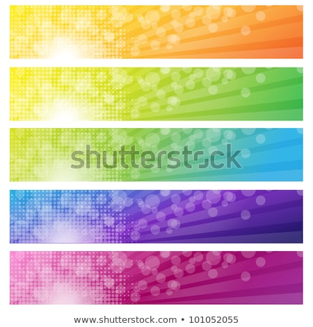 Stockfoto: Bokeh · wazig · Geel · groene · abstract · lay-out