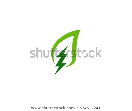 abstract green energy science vector logo icon Stock photo © blaskorizov