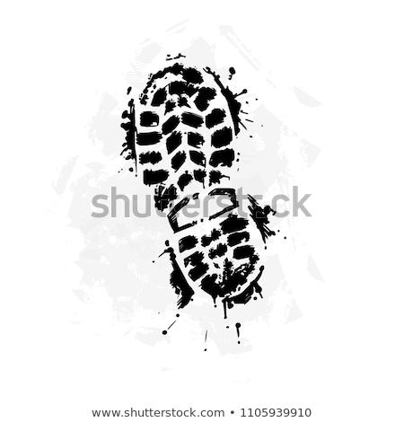 shoes icon stylized vector element Stock photo © blaskorizov