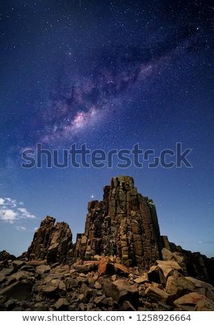 Leitoso maneira Austrália estrelas brilhante Foto stock © lovleah