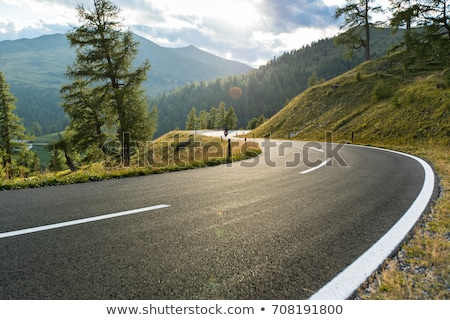 alpine mountain road Stock photo © unkreatives