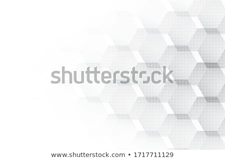 minimal hexagonal white pattern background Foto stock © SArts