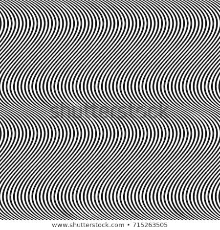hullámos · vonalak · végtelenített · vektor · absztrakt · mértani - stock fotó © yopixart