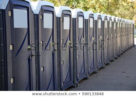 assinar · público · banheiro · porta · textura - foto stock © reticent