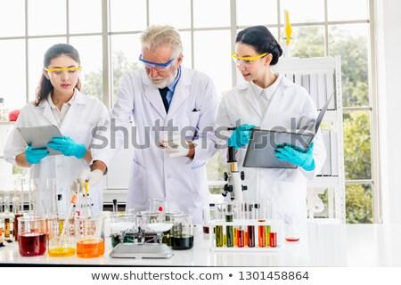 Stock fotó: Tudós · dolgozik · környezeti · biotechnológia · laboratórium · komoly