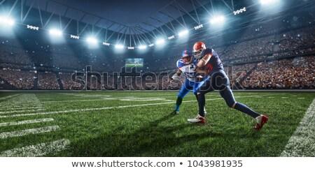 american football rush 2 stock photo © robstock