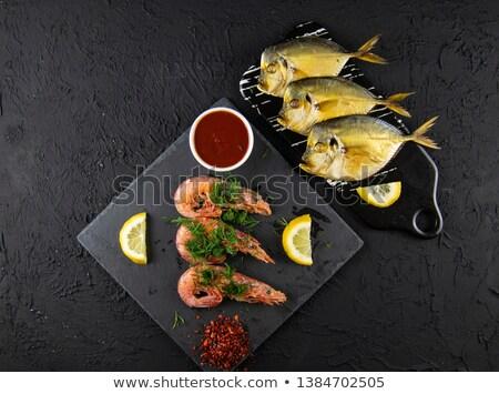 Ahumado peces salsa Foto stock © masay256