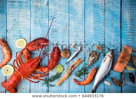 осьминога · извести · пряный · соус · продовольствие - Сток-фото © galitskaya