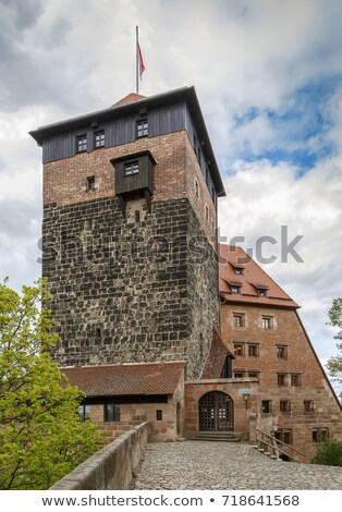 Former imperial stables, Nuremberg, Germany stock photo © borisb17