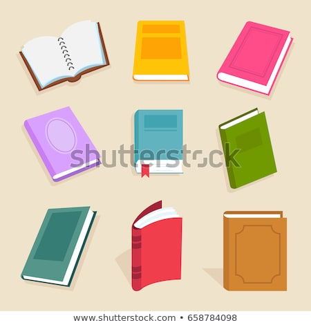 Educational Colorful Book or Notebook Sign Vector Stock photo © robuart