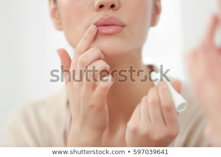 woman's Lips stock photo © sapegina