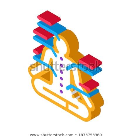 yogi traditional chinese medicine icon vector illustration Stock photo © pikepicture