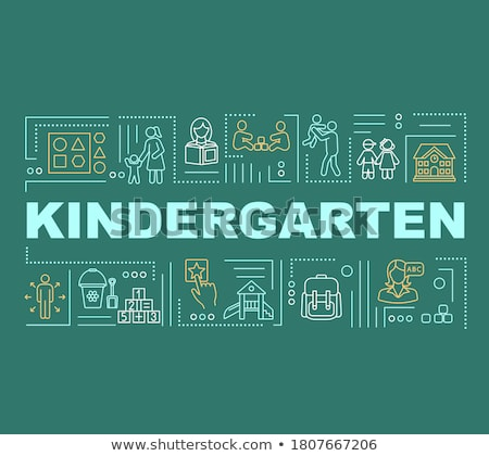 Early education concept banner header Stock photo © RAStudio