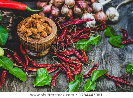 Stock fotó: Fűszeres · disznóhús · hal · főzés · szakács · Ázsia