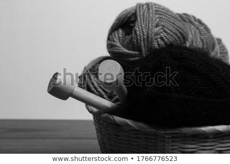 örgü · malzeme · süs · arka · dokular · moda - stok fotoğraf © ruslanomega
