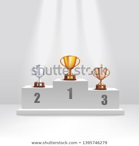 ouro · prata · bronze · troféu · copo · diferente - foto stock © oblachko