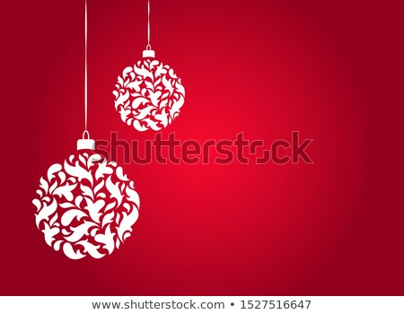 Christmas Presents and Ornaments! Vector / Clip Art Stock photo © damonshuck