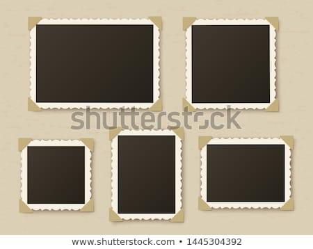 conjunto · papel · fundo · quadro - foto stock © aremafoto